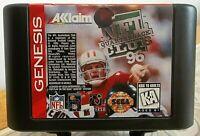 NFL Quarterback Club '96 (Sega Genesis 1995) Cartridge ONLY Classic Football VGC
