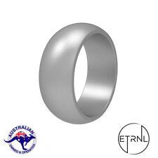 Men's Premium Silicone Active Wedding Ring | Silver