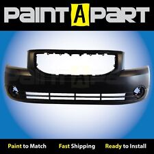 2010 2011 2012 Dodge Caliber (W/ Fog Holes) Front Bumper (CH1000870) Painted