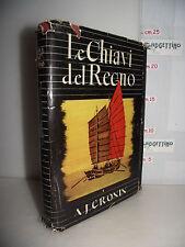LIBRO A.J.Cronin LE CHIAVI DEL REGNO ed.1946 Traduzione Andrea Damiano☺