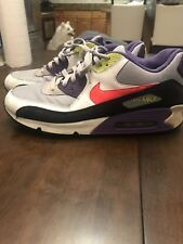 0c00cbba43a1 Nike Air Max 90 I Am The Rules 325018 024 Wolf Grey Solar Red Purple Volt