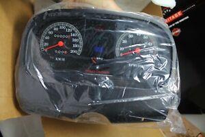 Harley FL FLHS gauges instrument cluster tach speedo KMH 67023-94 NOS EPS13668