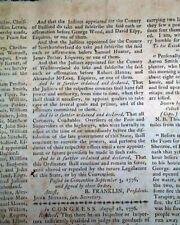 Battle Of Long Island Nyc & Benjamin Franklin Revolutionary War 1776 Newspaper