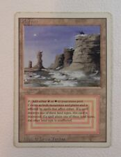 [1x] Plateau - Revised Edition Dual Land MTG Single Heavy Play Condition HP