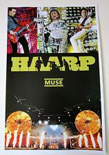 Muse *HAARP* Promo Poster Resistance 2nd Law Black Holes and Revelations RARE