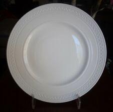 "Wedgwood England Intaglio Bone China Dinner Plates Set of 8 New Tag LOT 10.7"""