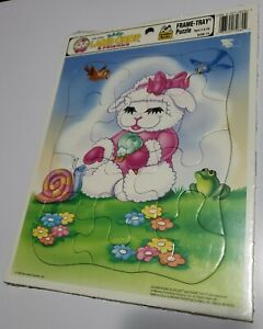 New Sealed Frame Tray Puzzle Baby Lamp Chop Shari Lewis 1993 Rare Golden USA
