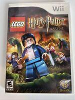 LEGO Harry Potter: Years 5-7 (Nintendo Wii, 2011)No Manual