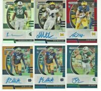Panini 2020 Prizm Draft Pick Autographs 6 Cards for $20