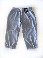 Nike Women's Softball Pants, Light Gray, Size Medium, Nwt