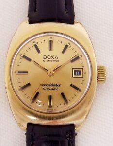 Doxa Conquisitator Automatik Damenarmbanduhr 7 er Jahre