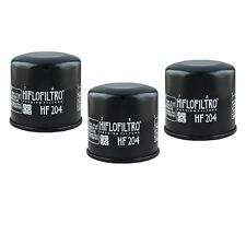 Oil Filter 3-Pack for KAWASAKI 2005-15 KVF650 BRUTE FORCE 4X4 HF204