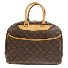 LOUIS VUITTON DEAUVILLE BOWLING BUSINESS HAND BAG PURSE M47270 MB0073 80193