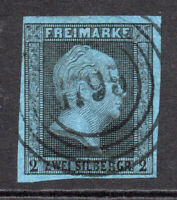 Prussia (Germany) 2sgr Stamp c1850-56 Used (7576)