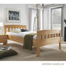 ELISA Massivholzbett Holzbett Doppelbett Bett Holz Seniorenbett Massiv 120x200