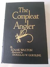 THE COMPLEAT Izaak Walton ANGLER Easton Press Leather Bound Collector's Ed. 1976