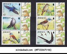 JERSEY - 2011 SUMMER BIRDS / BIRDLIFE - 6V - MINT NH