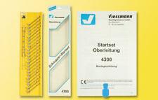 Viessmann 4300 Voie N Startset Caténaire # Neuf Emballage D'Origine #