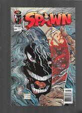 SPAWN # 37  NEWSSTAND UPC VARIANT COVER IMAGE COMICS MCFARLANE CAPULLO COVER