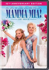 MAMMA MIA: THE MOVIE DVD - 10TH ANNIVERSARY EDITION - NEW UNOPENED MERYL STREEP