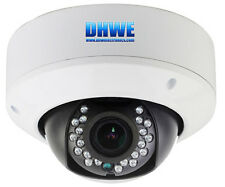 CCTV Outdoor Dome Camera CMOS 960H 800TVL High Resolution 20M IR Vandalproof
