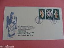 Queen Elizabeth II Silver Jubilee Coronation FDC British Virgin Islands 1978 #2