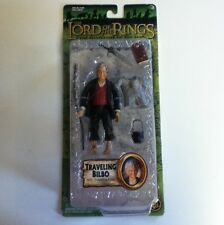 Lotr Lord Of The Rings Bilbo With Traveling Gear 2003 Hobbit Rare Htf Fotr Mip