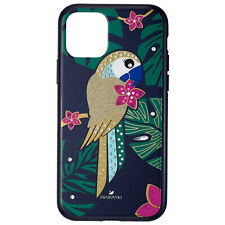 Swarovski Crystal Tropical Parrot Smartphone Case for iPhone 11 Pro 5534015