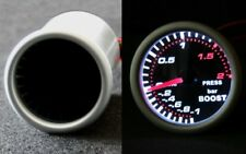 Boost Pressure Display Boost Guage Instrument Smoke Line Turbo Boost White Red