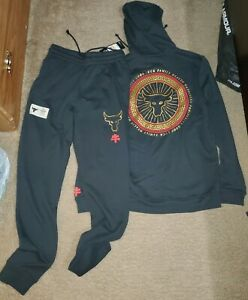 Under Armour PROJECT ROCK Chinese New Year Hoodie Sweatshirt & Sweatpants Large