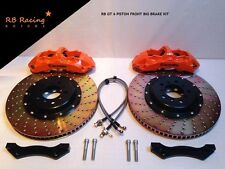 355mm GT 6 Piston Big Brake Kit Brembo Spec Honda S2000 Civic Type R NSX 3.0 3.2