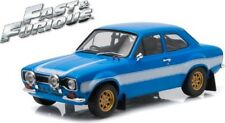 Brian's Ford ESCORT Rs2000 MKI Like and The Furious 6 2013 Blue 1 18 Greenlight
