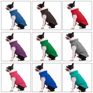 Puppy Pet  Cat Dog Fleece Coat T-shirt Warm Jacket Vest Pet Dog Clothes Apparel
