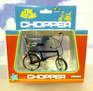 """TOYWAY 1/12 1970'S RALEIGH CHOPPER MK1 MKI BIKE BICYCLE """"THE HOT ONE"""" IN BLACK"""