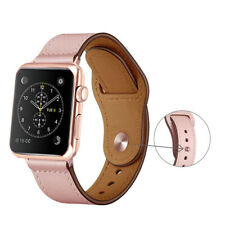 For iWatch Leather Loop Bracelet Strap Band For Apple Watch 5/4/3/2 38/42/40/44