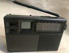 Siemens Taschenradio RK 702 Weltempfänger , 2 Zeitzonen Uhr