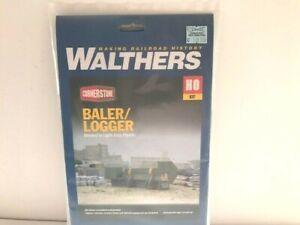 Walthers Cornerstone HO 933-3631 Baler/Logger Kit