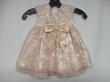 Sweet Heart Rose Toddler Girls Sleeveless Formal Dress Size 18M  E8