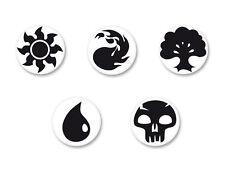 Lot Pack Badge Button Ø38mm Symbole Logo MTG Magic Magie Mana