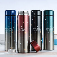 500ML 2020 New Vacuum Travel Thermos Stainless Steel Flask Water Bottle Cup