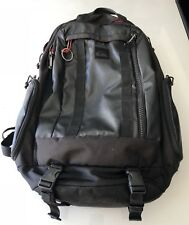 Quiksilver Backpack, Black, Red Interior OBO