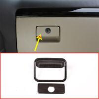 Black Wood Grain For Toyota Land Cruiser Prado FJ150 10-18 Glove Box Trim