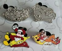 Characters Sleeping 2012 Hidden Mickey Series Set WDW Choose a Disney Pin