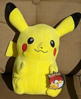 """Pokemon Pikachu Plush Stuffed Toy Kids Large 14"""" Authentic New Official Licensed"""
