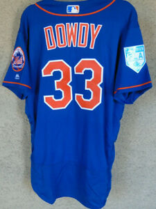 Kyle Dowdy 2019 Game / Team / Issued Spring Training New York Mets Jersey