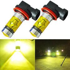 2x 100W H11/H8 LED Lampen Nebelscheinwerfer Scheinwerfer Tagfahrlicht Universal
