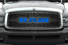 Custom Grille Kit for Dodge Ram Truck 1500/2500/3500 2002-05 RAM w/ Blue Acrylic