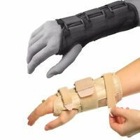 Carpal Tunnel Wrist Support Adjustable Brace Splint Arthritis Right Left Hand