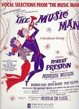 Vocal Selection - 1959 THE MUSIC MAN By Meredith Willson & Morton Da Costa  RaRe
