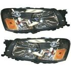 Headlight Set For 2003-2004 Subaru Forester Left and Right With Bulb 2Pc